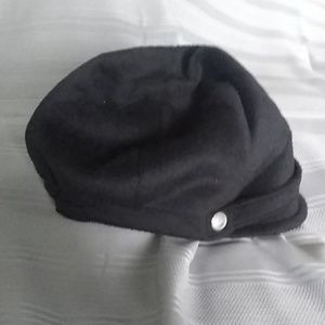 Armani Exchange Acrylic/Wool M/L Paperboy Hat